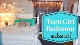 ABFOL - Teen Girl's Bedroom Makeover (2017 Challenge)