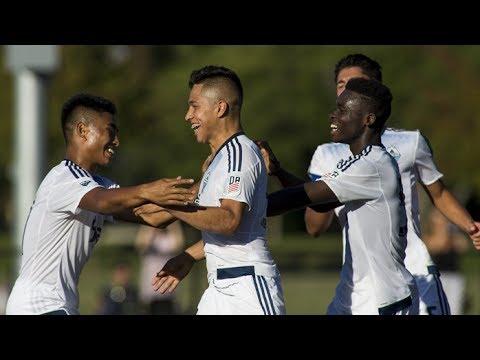 Highlights: 'Caps U-16s Defeat Seattle 3-0 In Quarterfinals