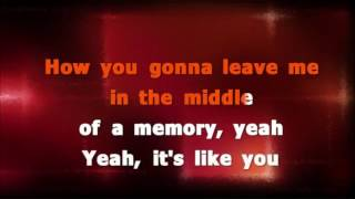 MIDDLE OF A MEMORY, cover of song originally performed by Cole Swindell