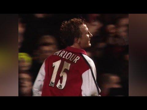 Ray Parlour hat trick vs Newcastle | 2000/01 [HQ]