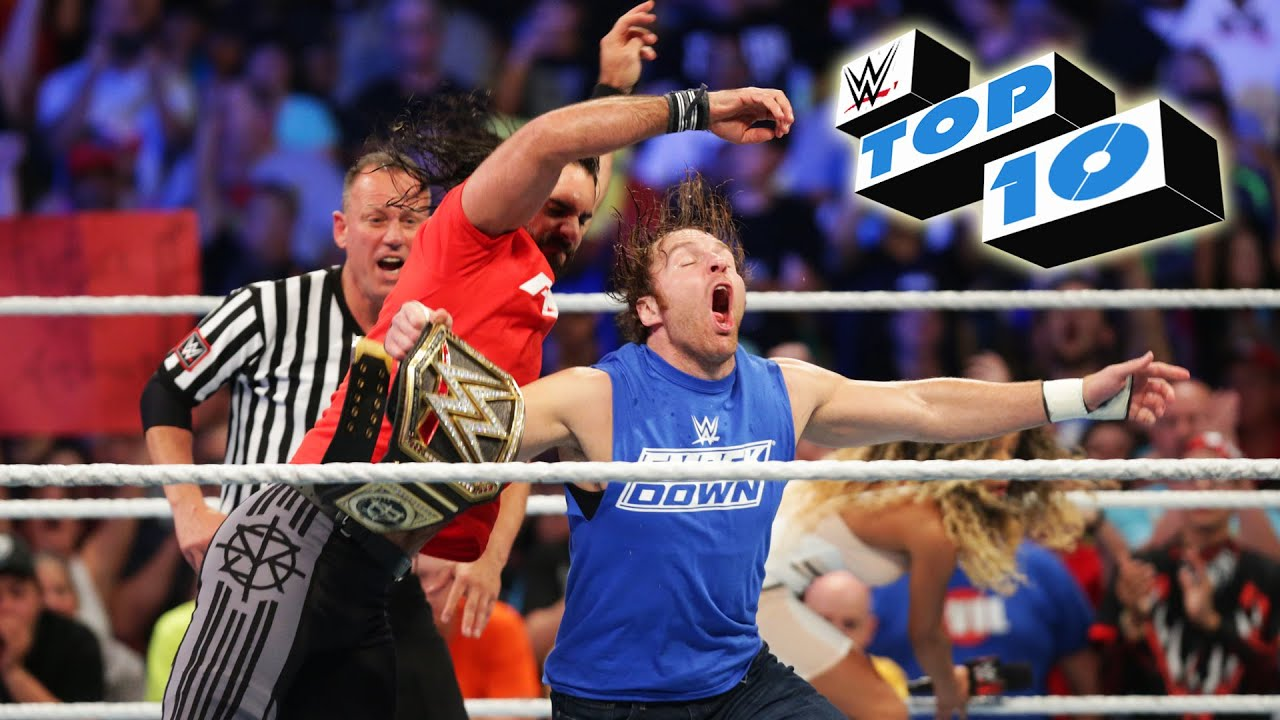 Top 10 SmackDown Live Momente: WWE Top 10, 19. Juli 2016