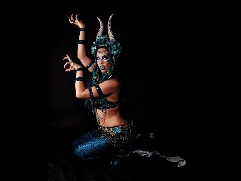 Moonhar's Zodiac Mermaid- Dark Tribal Fusion Bellydance- Capricorn