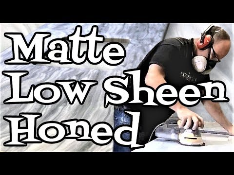 How to Matte, Low Sheen, or Hone an Epoxy Finish