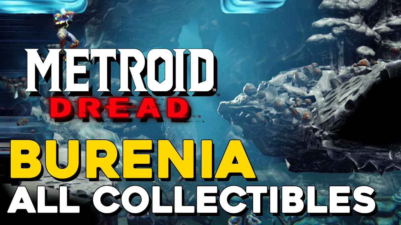 Download Metroid Dread Burenia All Collectible Locations (100% Items) (All Missile Tanks, Energy Tanks...)