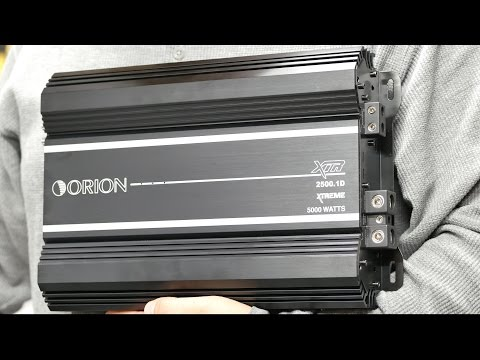 Orion XTR 2500.1D Amp Dyno Test - Real RMS Power at 12.6 volts