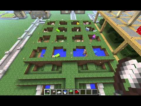 Semi Automated Sheep Wool Farm All 16 Colors Theminecraftmuse S