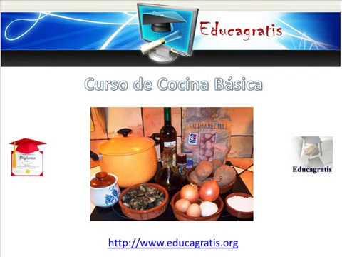 Curso De Cocina Basica | Curso De Cocina Basica Youtube