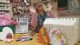 Summer Craft Challenge   Week 1 Dragons & Unicorns   The Craft Cabin