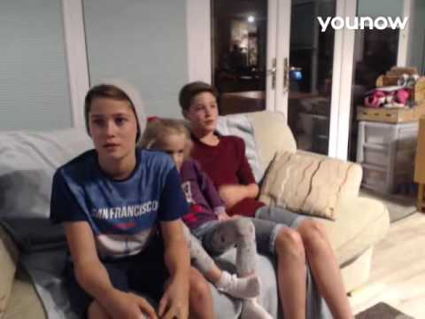 LIVE on YouNow September 17, 2016