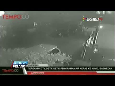 Rekaman CCTV Penyerangan Novel Baswedan