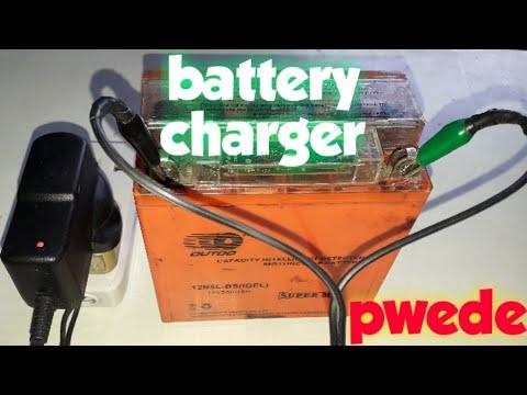 Homemade 12volt battery charger