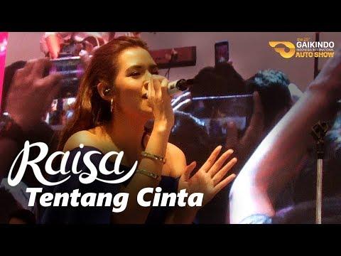 RAISA - Tentang Cinta (Live at GIIAS 2017 | Booth Suzuki)