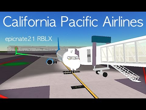 ROBLOX | California Pacific Airlines Boeing 737-800 Flight