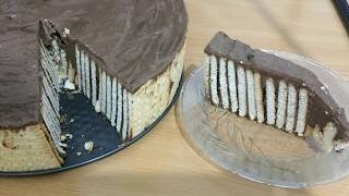 Chocolate Biscuit Cake No Bake