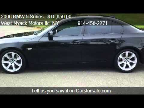 2006 bmw 5 series 550i for sale in spring valley ny 10977 youtube. Black Bedroom Furniture Sets. Home Design Ideas