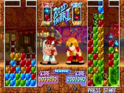 how to get a diamond in puzzle fighter ii