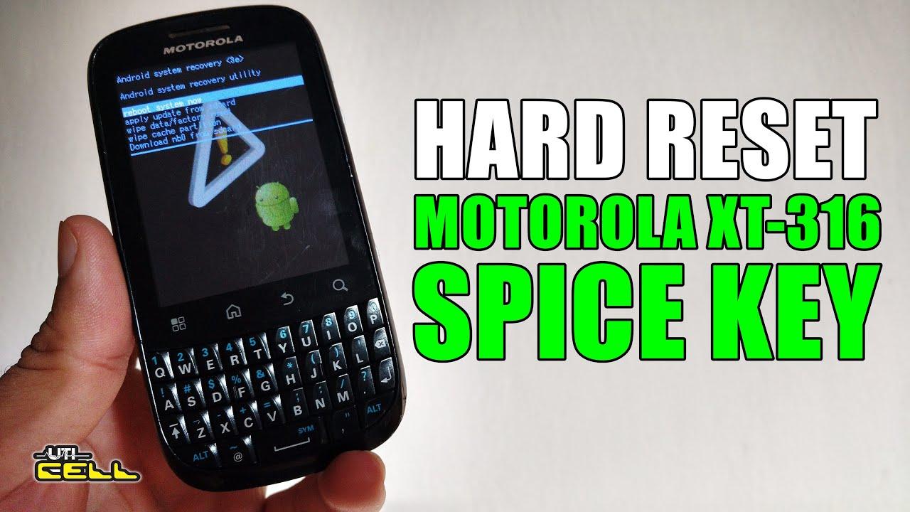 hard reset no motorola spice key xt 316 uticell youtube rh youtube com Jabra Bluetooth Manual Alcatel Phones Manual