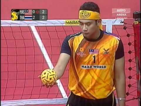 Istaf  Sepaktakraw World cup 2011 / Malaysia Vs Thailand Final
