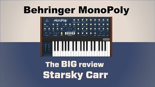 BEHRINGER MonoPoly: unboxing iniтial review and first impressions