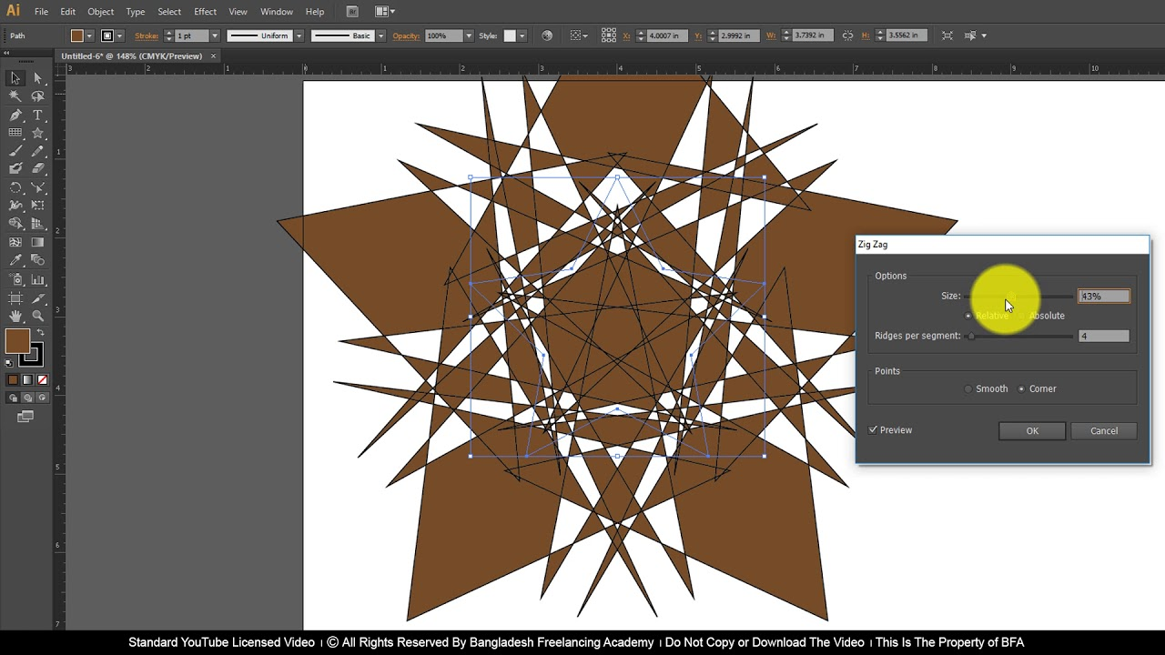 Ai Class 24 How to use Illustrator Filter Effects