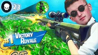Infinite Lists Gets His BEST Victory Royale On FORTNITE! (INSANE)