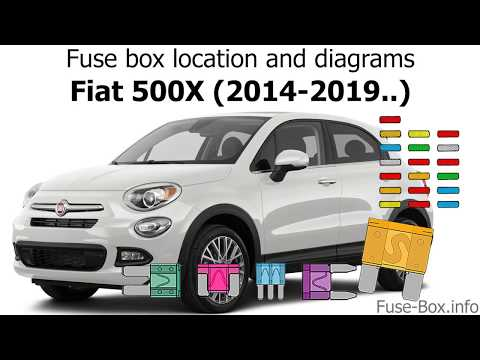 [ANLQ_8698]  Fuse box location and diagrams: Fiat 500X (2014-2019..) - YouTube | Fuse Box Fiat 500 Pop |  | YouTube
