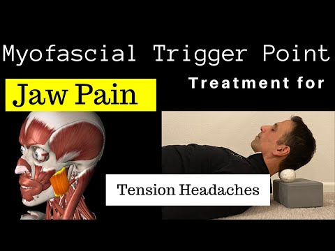 Massage To Relieve JAW Pain And HEADACHES