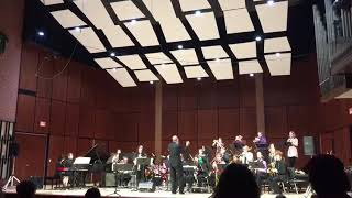 """Seafever"" by Christine Jensen (Sue McKenzie with UWRF Jazz Ensemble)"