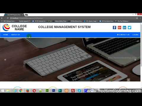 Free PHP Projects - College Management System (Online Examination System) - www.freetimelearning.com