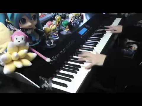 大好きな東方の曲をメドレーにして弾いてみた【ピアノ】