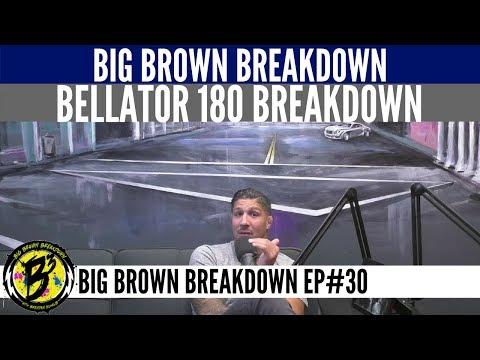 Brendan Schaub's Bellator 180 Breakdown