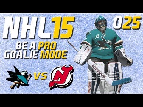 NHL 15 Torhütermodus [Be A Pro] #025 - San Jose Sharks - New Jersey Devils ★ Let's Play NHL 15