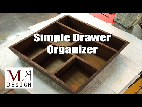 Simple Drawer Organizer