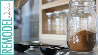 Easy Mini Mason Jar Spice Rack DIY Tutorial + Building Plan