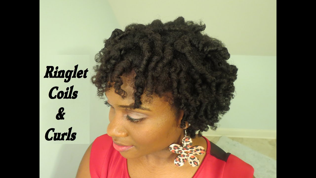 perm rod set on 4c natural hair - youtube