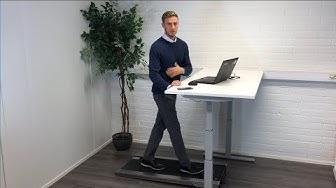 Esittelyssä kävelymatto toimistoon: WalkRo, Health One