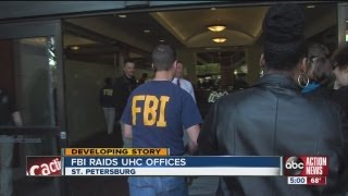 FBI agents seize materials from Universal Healthcare