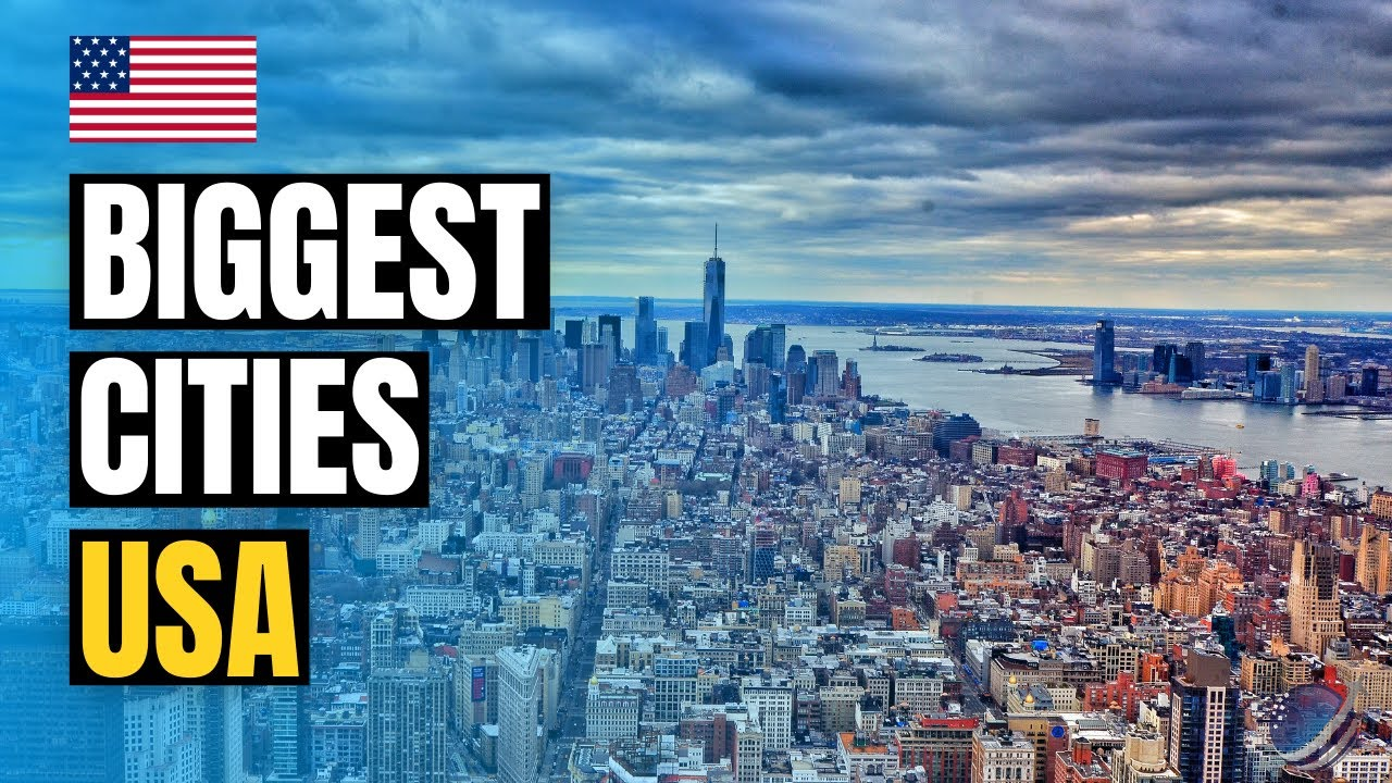 Top 10 Biggest Cities in USA | Largest Cities by Population 2021