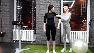 видео EMS-тренировки в ЭМС-костюме