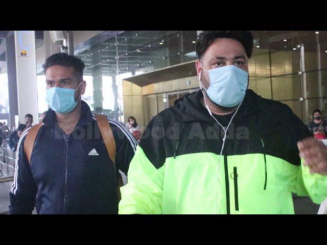 Badshah Spotted At Airport