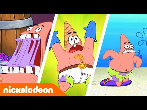 SpongeBob  Hora da Estrela ⭐️  Nickelodeon em Português