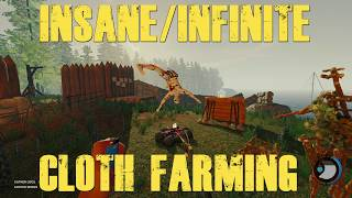 INSANE INFINITE CLOTH FARMING - The Forest Update 0.71