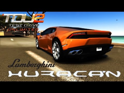 full download test drive unlimited 2 lamborghini huracan. Black Bedroom Furniture Sets. Home Design Ideas