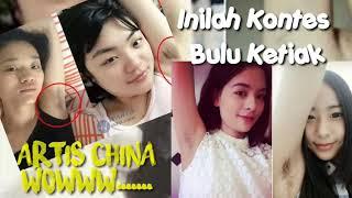Wowww Inilah Kontes BULU KETIAK wanita cantik di China