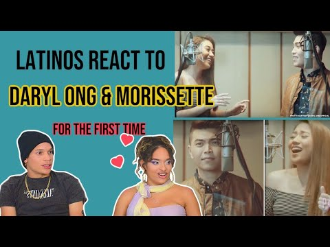 Latinos react to You Are The Reason - Calum Scott - Cover by Daryl Ong & Morissette Amon | REACTION