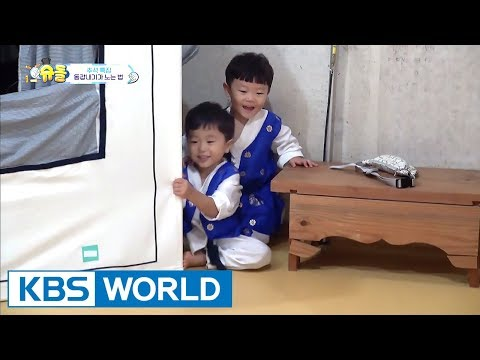 How Sian & Seungjae play around. [The Return of Superman / 2017.10.15]