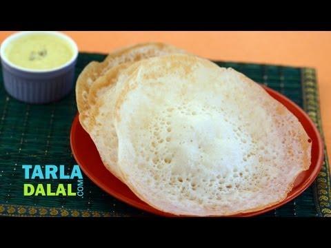 Appam, Kerala Appam Recipe by Tarla Dalal