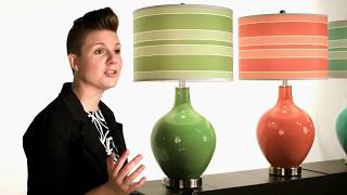 Glass Lamps In 60+ Designer Colors - See The New Color+plus™ Lighiting Collection By Lamps Plus