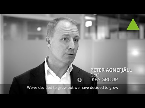 Why sustainability is IKEA's growth - Peter Agnefjäll, CEO, IKEA Group