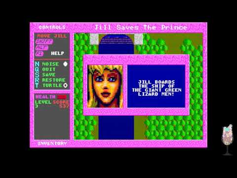 MS-DOS Crypt - Jill of the Jungle 3: Jill Saves The Prince